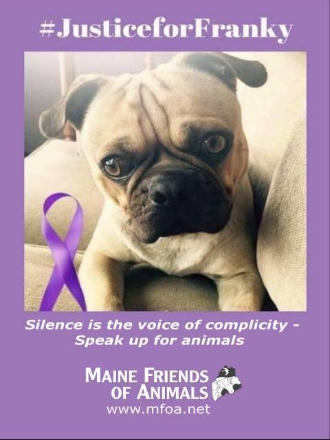 MFOA Bill: Franky's Law (Cruelty case assistance)   Maine